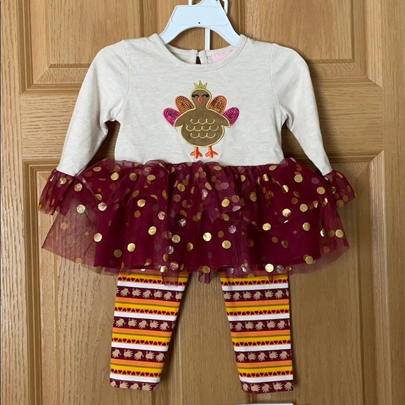 18 Month Turkey Outfit